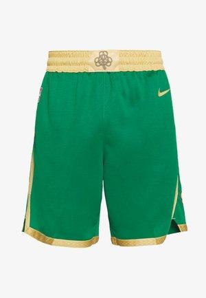 NBA CITY EDITION BOSTON CELTICS - Urheilushortsit - clover/club gold/club gold