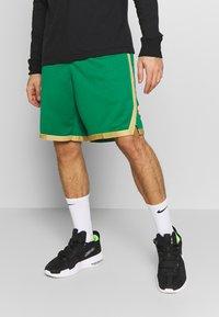 Nike Performance - NBA CITY EDITION BOSTON CELTICS - Korte broeken - clover/club gold/club gold - 0