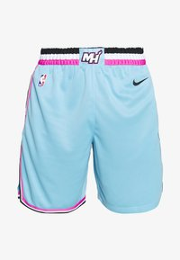 Nike Performance - NBA CITY EDITION MIAMI HEAT SHORT - Korte broeken - blue gale - 3