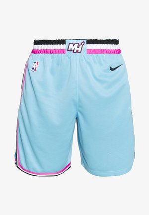 NBA CITY EDITION MIAMI HEAT SHORT - Krótkie spodenki sportowe - blue gale