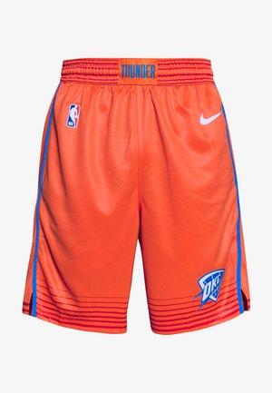 NBA STATEMENT - Pantaloncini sportivi - team orange/signal blue/white
