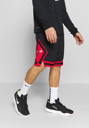 NBA CHICAGO BULLS STATEMENT - Krótkie spodenki sportowe - black/university red/white