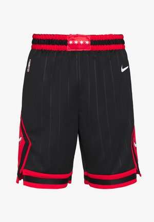 NBA CHICAGO BULLS STATEMENT - Sportovní kraťasy - black/university red/white