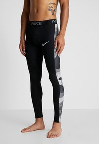 Nike Performance - CAMO - Tights - black/white - 3