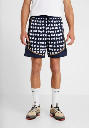 STRIDE SHORT ARTIST - Sports shorts - obsidian/reflective silver