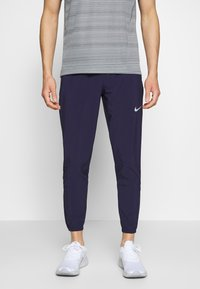Nike Performance - ESSENTIAL PANT - Pantalones deportivos - imperial purple/reflective silver - 0
