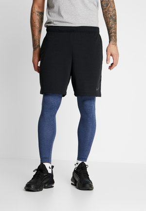 PRO  - Tights - obsidian/ocean fog/black