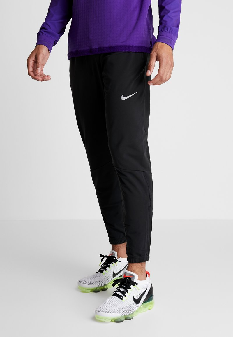 Nike Performance - THRMA PANT  - Tracksuit bottoms - black/reflective silv