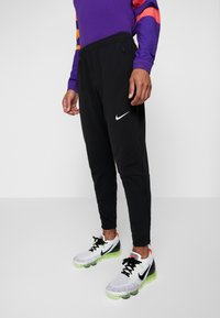 Nike Performance - THRMA PANT  - Tracksuit bottoms - black/reflective silv - 3