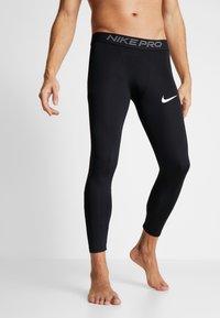 Nike Performance - PRO - Calzamaglia - black/white - 1
