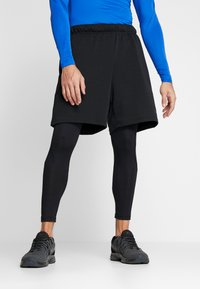 Nike Performance - PRO - Pitkät alushousut - black/white - 3