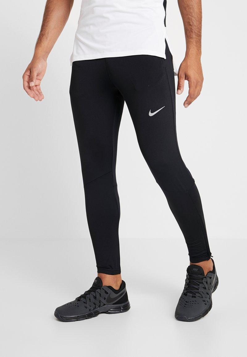 Nike Performance - ESSENTIAL PANT - Verryttelyhousut - black/reflective silver