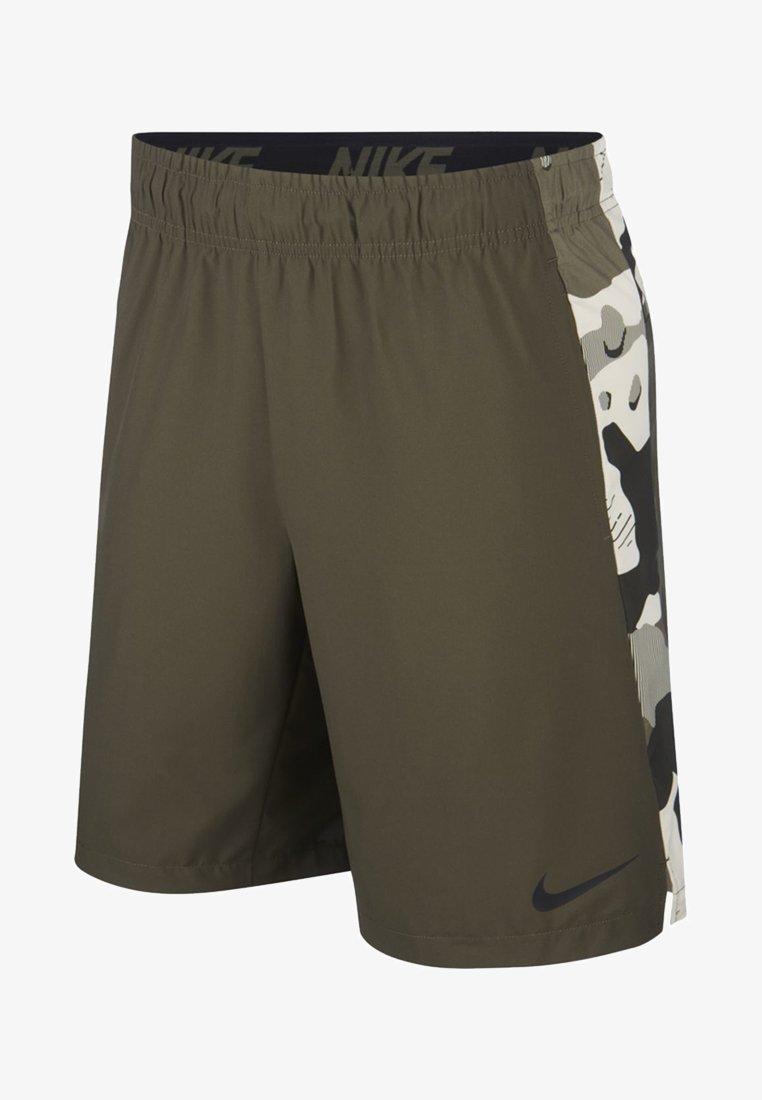 Nike Performance - Korte broeken - cargo khaki/light bone/black