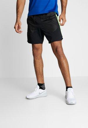 WILD RUN SHORT - Sports shorts - black/silver