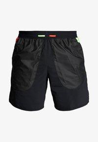 Nike Performance - WILD RUN SHORT - Träningsshorts - black/silver - 4