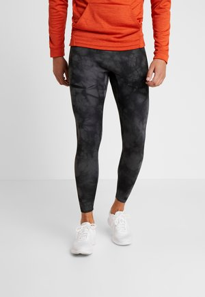 Leggings - dark grey/black/reflect black