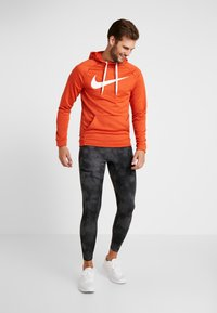 Nike Performance - Leggings - dark grey/black/reflect black