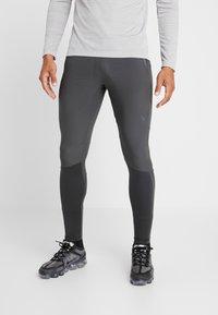 Nike Performance - SWIFT PANT - Pantalones deportivos - dark smoke grey/black - 0