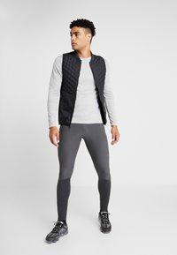 Nike Performance - SWIFT PANT - Tracksuit bottoms - dark smoke grey/black - 1