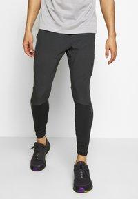 Nike Performance - SWIFT PANT - Verryttelyhousut - black/reflect black - 0