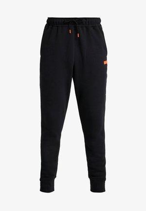 LEBRON JAMES PANT - Trainingsbroek - black/team orange