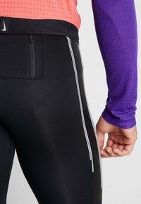 Nike Performance - POWER FLASH  - Punčochy - black/reflective silver - 6