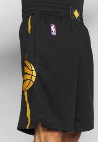 Nike Performance - NBA CITY EDITION TORONTO RAPTORS SWINGMAN SHORT - Short de sport - black - 4