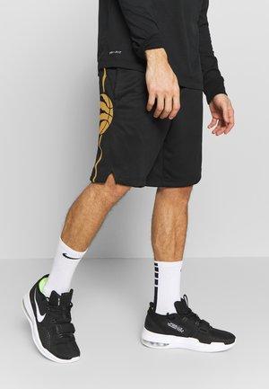 NBA CITY EDITION TORONTO RAPTORS SWINGMAN SHORT - Krótkie spodenki sportowe - black