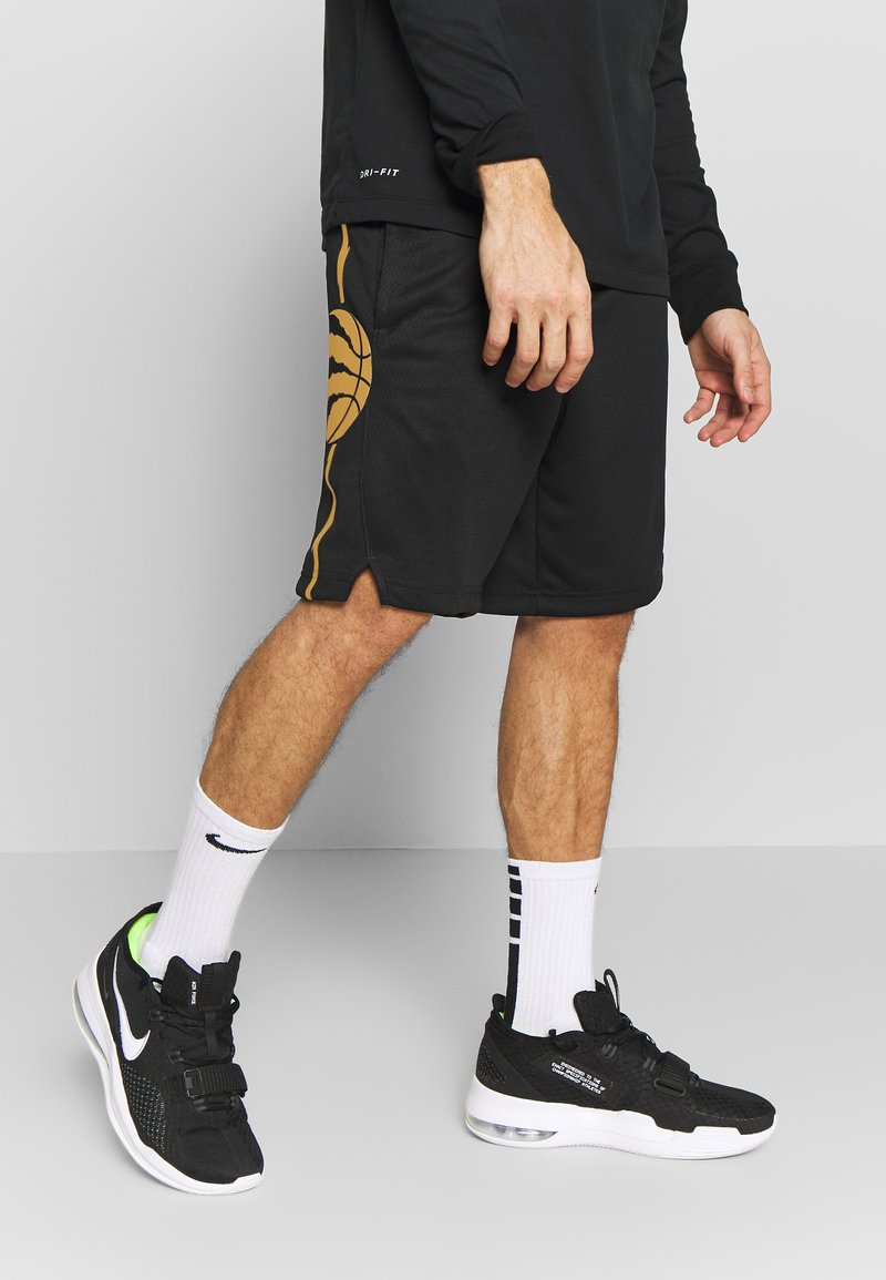 Nike Performance - NBA CITY EDITION TORONTO RAPTORS SWINGMAN SHORT - Short de sport - black