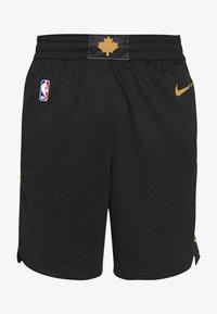 Nike Performance - NBA CITY EDITION TORONTO RAPTORS SWINGMAN SHORT - Short de sport - black - 3
