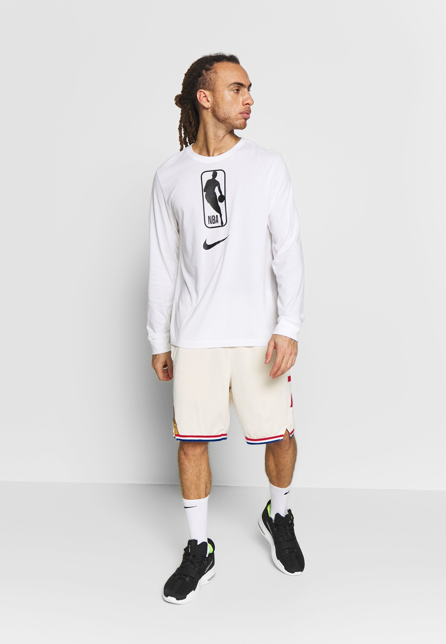 Nike Performance Nba City Edition Philadelphia 76ers Swingman Short - Träningsshorts Flat Opal