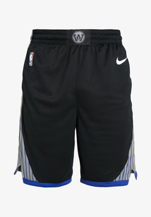 NBA CITY EDITION GOLDEN STATE WARRIORS SWINGMAN SHORT - Sports shorts - black/dark steel grey/rush blue/white