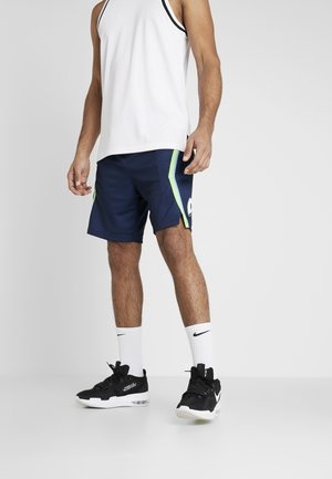 NBA CITY EDITION DALLAS MAVERICKS SWINGMAN SHORT - Sportovní kraťasy - college navy/action green/white