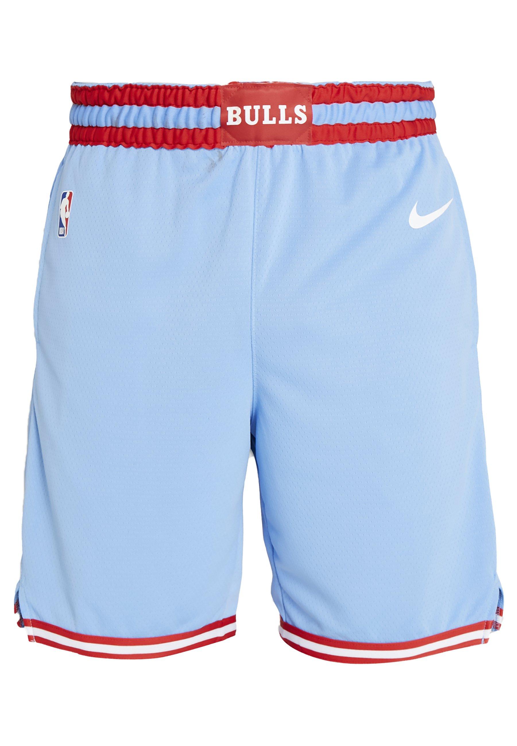 Nike Performance Nba City Edition Chicago Bulls Swingman Short - Träningsshorts Valor Blue/white