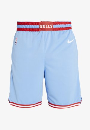 NBA CITY EDITION CHICAGO BULLS SWINGMAN SHORT - Krótkie spodenki sportowe - valor blue/white