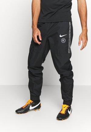 FC PANT  - Pantalon de survêtement - black/black/white