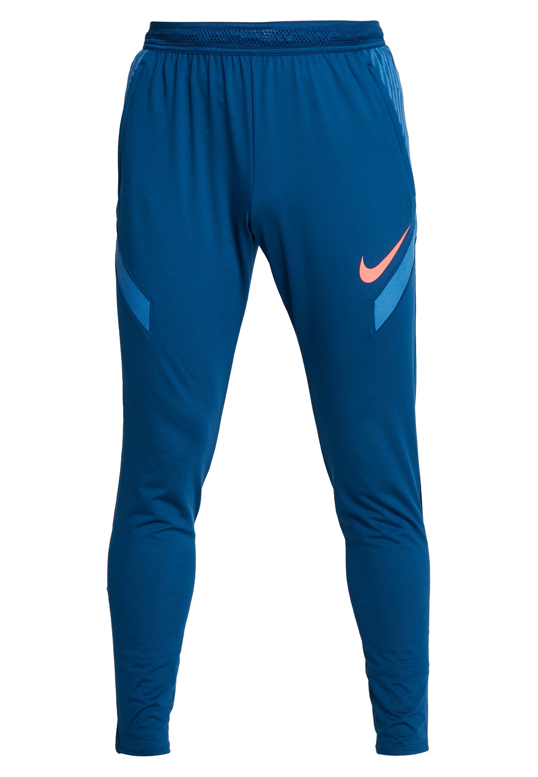 Nike Performance NIKE DRI-FIT STRIKE  HERREN-FUBALLHOSE - Pantaloni sportivi - valerian blue/laser crimson
