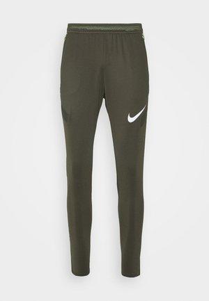 DRY PANT - Teplákové kalhoty - cargo khaki/cargo khaki/white