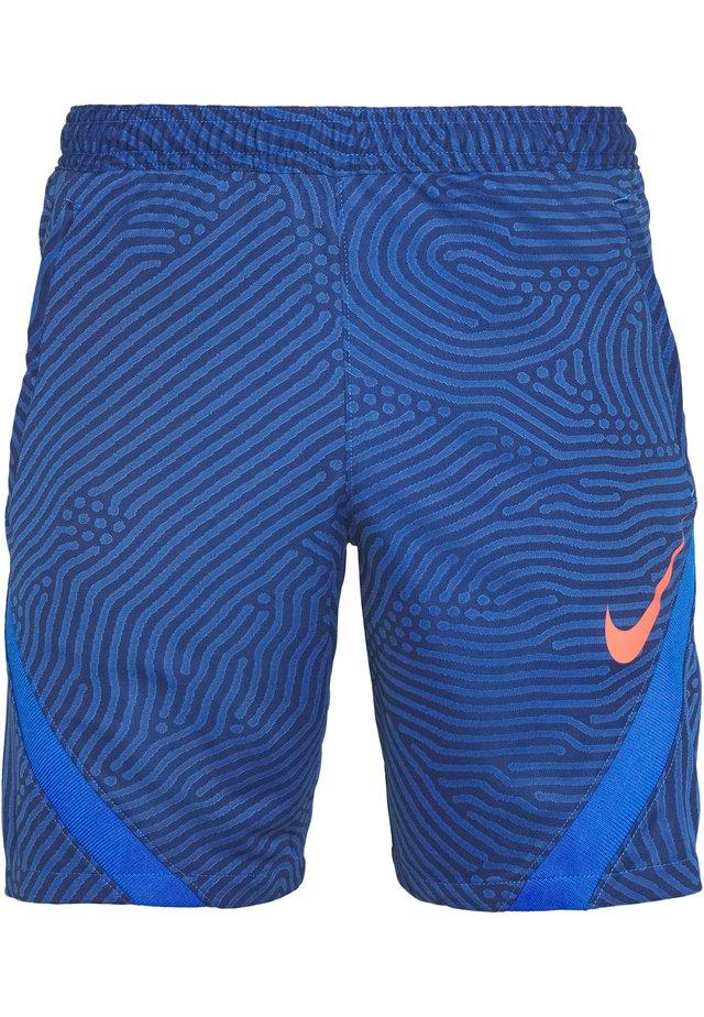 DRY STRIKE SHORT - Sports shorts - midnight navy/soar/soar/laser crimson