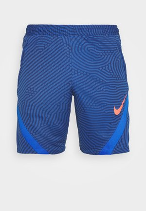 DRY STRIKE SHORT - Urheilushortsit - midnight navy/soar/soar/laser crimson