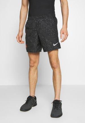 Pantalón corto de deporte - black/anthracite