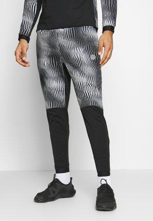 TRK WRM PR FF - Pantalones deportivos - black/silver