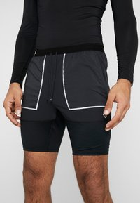 Nike Performance - SHORT FUTURE FAST - Pantalón corto de deporte - black/dark smoke grey/reflective silver - 3