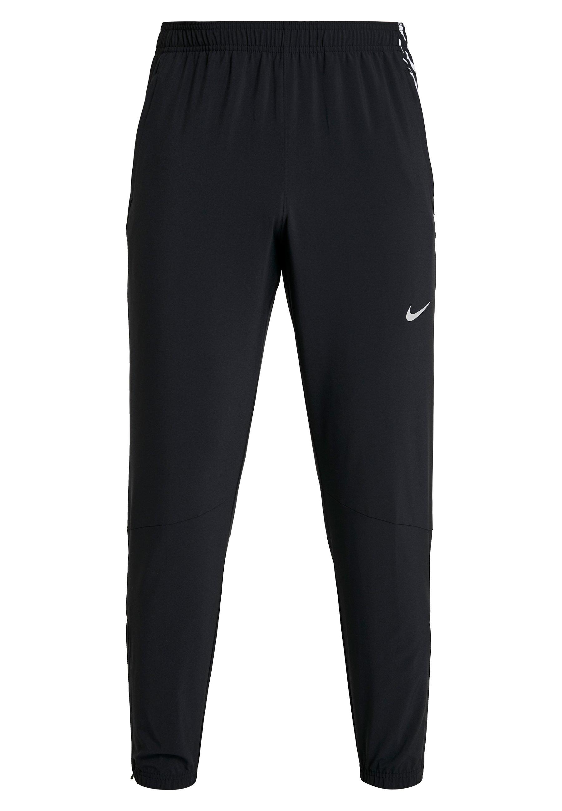Nike Performance WOVEN PANT - Spodnie treningowe - black/silver