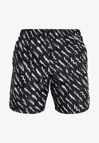 Nike Performance - SHORT  - Sports shorts - black/silver - 5
