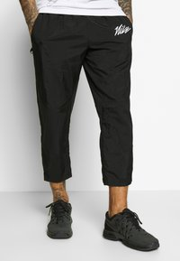 Nike Performance - PANT  - Verryttelyhousut - black/smoke grey/white - 0