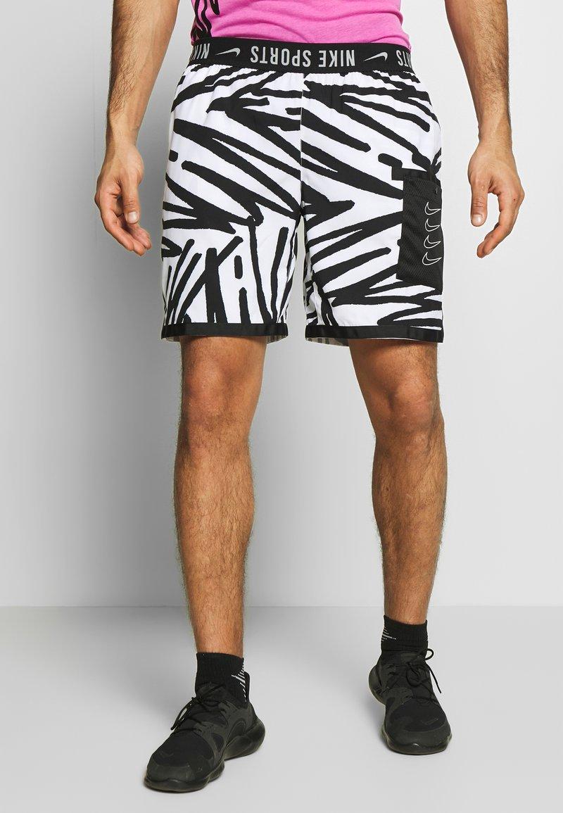 Nike Performance - SHORT  - Sports shorts - white/white/(white)