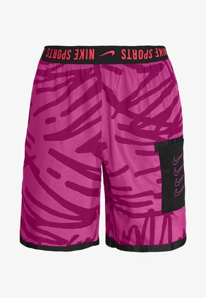 SHORT  - Sports shorts - fire pink/noble red