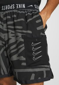 Nike Performance - SHORT  - Sports shorts - black/white - 3