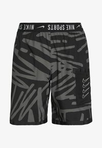 Nike Performance - SHORT  - Sports shorts - black/white - 4